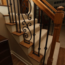 Traditional Staircase by Architectural Justice