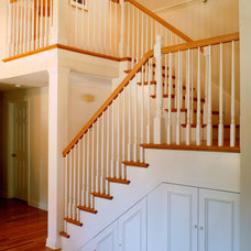 Traditional Staircase by BeautifulRemodel.com