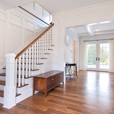 traditional staircase by Benco Construction
