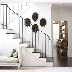 traditional staircase by Bradley E Heppner Architecture, LLC
