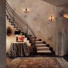 Traditional Staircase by Davis Design