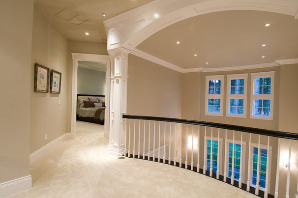 Traditional Staircase by dC Fine Homes & Interiors