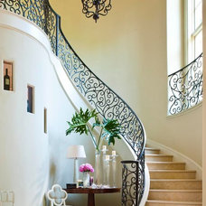 Traditional Staircase by Denise McGaha Interiors