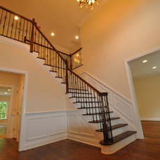 Traditional Staircase by Distinctive Domain