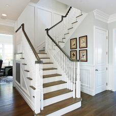 Traditional Staircase by DTM INTERIORS