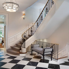 Traditional Staircase by Sorento Design, LLC.