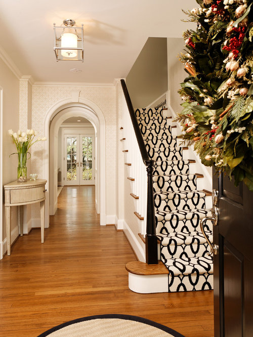 Traditional Wooden Staircase Idea In DC Metro