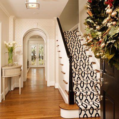 Staircase - traditional wooden staircase idea in DC Metro