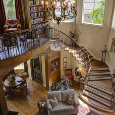 Traditional Staircase by Feil Inc. Wood Flooring & Stairs