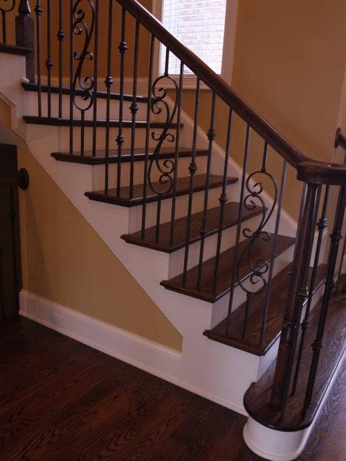 Wrought Iron Staircase Houzz