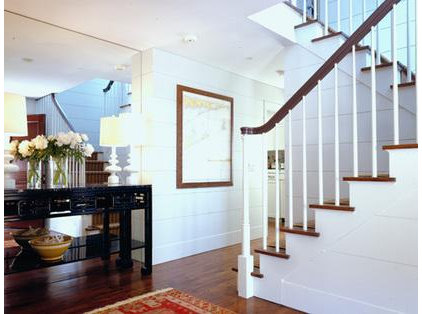 traditional staircase by CWB Architects