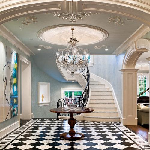 Grand Foyer Houzz : Grand foyer houzz