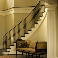 Traditional Staircase by Island Architects