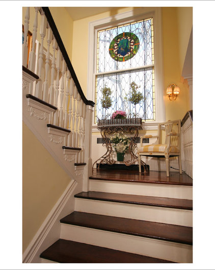 Traditional Staircase by J. Stephens Interiors