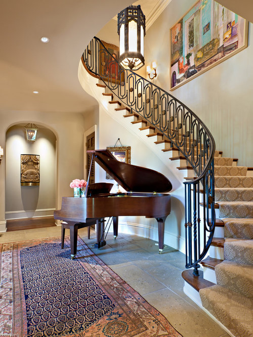 Staircase Carpet Home Design Ideas Pictures Remodel And