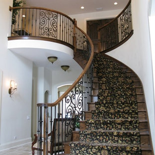 Staircase - traditional staircase idea in Chicago