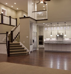 traditional staircase by Candlelight Homes