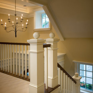 Example of a classic staircase design in Minneapolis