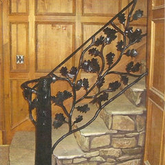 traditional entry by Oak Hill Iron