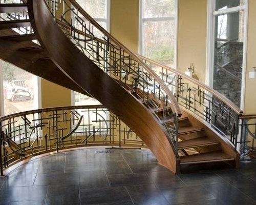 fun wrought iron staircase. Wrought Iron Staircase Design  Houzz