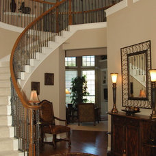 Traditional Staircase by Peri Nicole Interiors