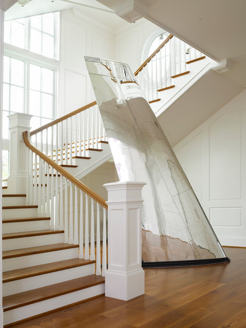 Stainless Steel Staircase Railing Houzz