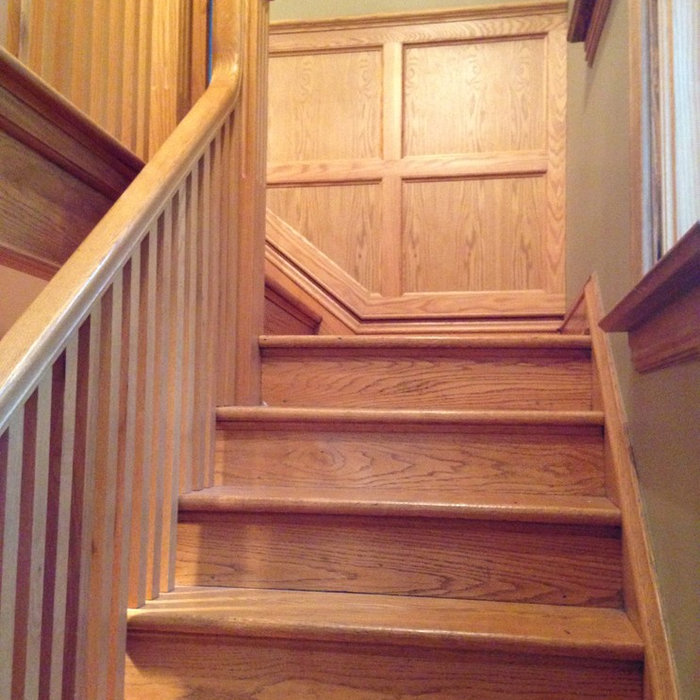 Traditional Staircase Renovation