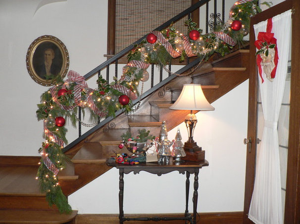 Traditional Staircase by Timothy De Clue Design L.L.C