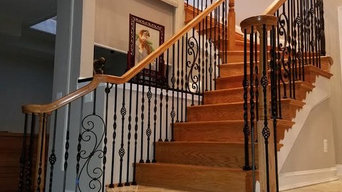 Traditional Staircase to Basement