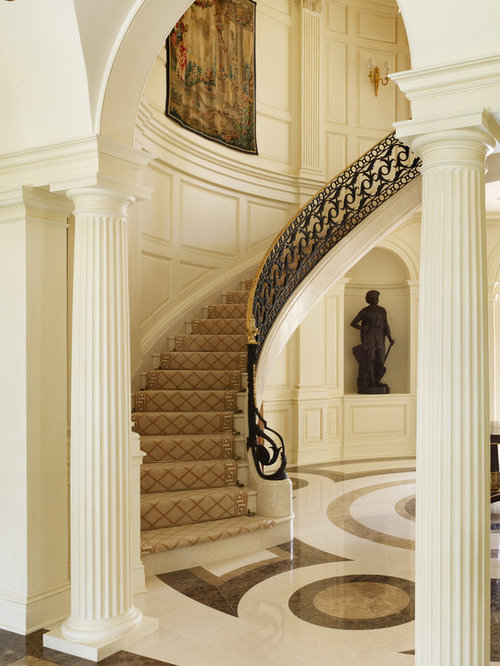 Foyer Stairs Reviews : Foyer with stairs home design ideas pictures remodel and