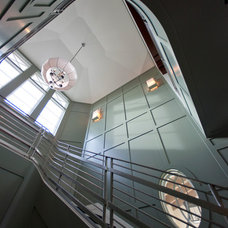 Transitional Staircase by deakins design group