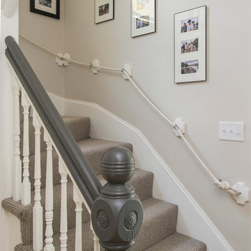 Transitional Cambridge Stairwell