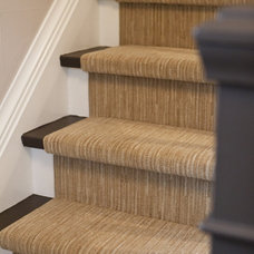 Traditional Staircase by BiglarKinyan Design Planning Inc.