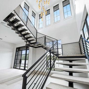 Transitional Modern Build in New Braunfels