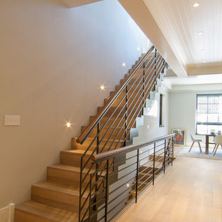 Transitional Staircase Houzz