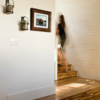 Island Lake Contemporary Staircase Detroit By