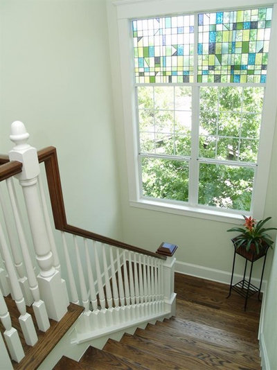 Victorian Staircase by RisherMartin Fine Homes