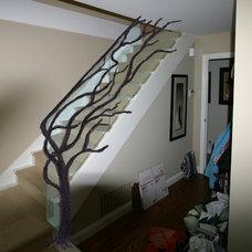 Eclectic Staircase by ArtMetallique.com