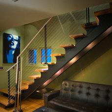 Modern Staircase by Thomas Lawton Architect