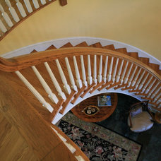 Traditional Staircase by Tab Premium Built Homes