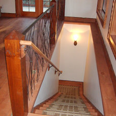 Eclectic Staircase by Tretiakoff inc
