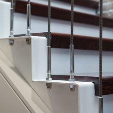 Contemporary Staircase by Matiz Architecture & Design