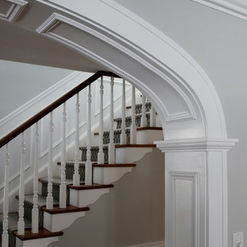 Arched Opening Millwork Detail