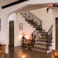 Mediterranean Staircase by Gary J Ahern, AIA - Focal Point Design