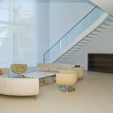 Tropical Staircase by Seattle Stair & Design