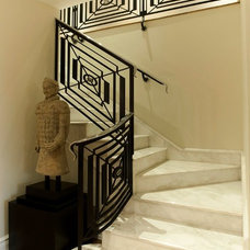 Traditional Staircase by Split Rock Associates Inc.