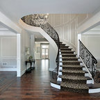 Custom Railing - Staircase - Louisville - by Maynard Studios