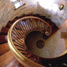 Traditional Staircase by Talla Skogmo Interior Design