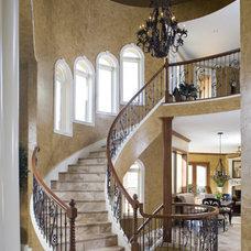 Mediterranean Staircase by Karla Shone Designs