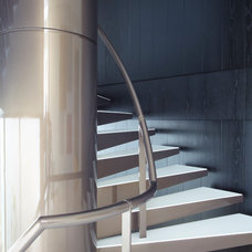Modern Staircase by Smart Design Studio